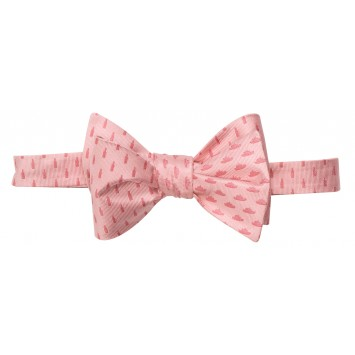 Booze Cruise Bow Light Pink